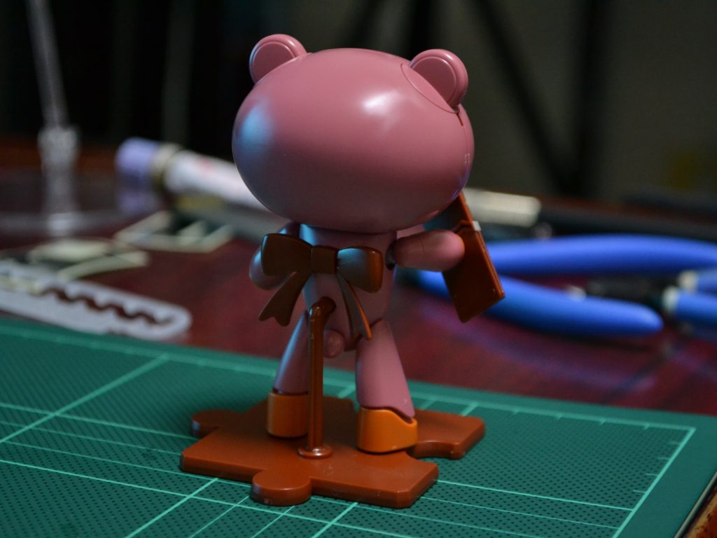 HGPG 1/144 プチッガイ ビタースウィートブラウン&チョコレート [Petit'gguy Bittersweet Brown and Chocolate] 背面