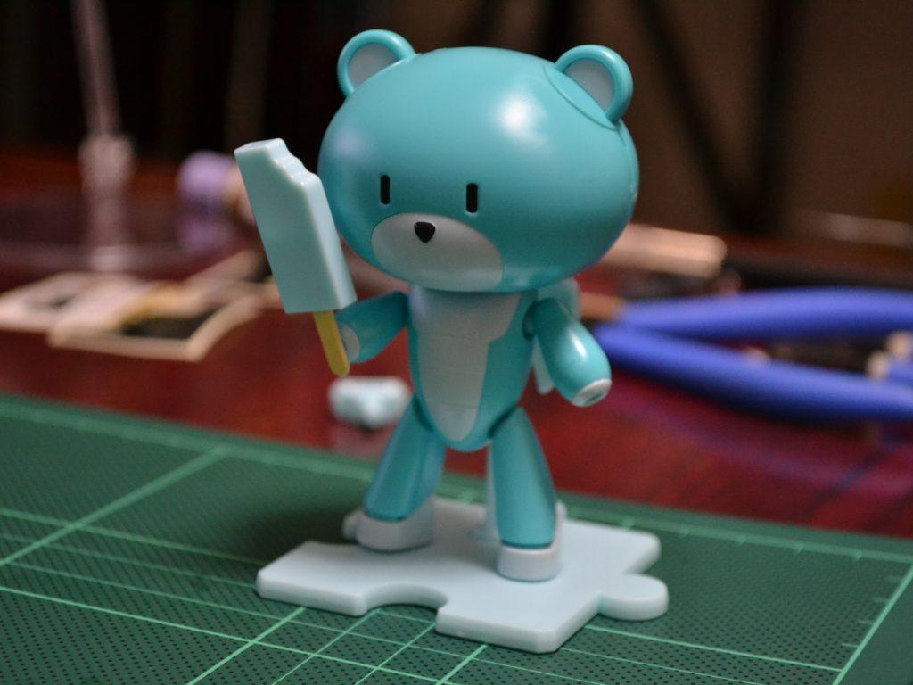 HGPG 1/144 プチッガイ ソーダポップブルー&アイスキャンディ [Petit'gguy Sodapop Blue and Ice Candy] 正面
