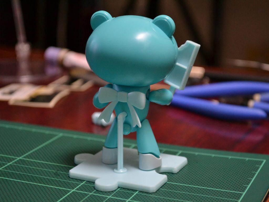 HGPG 1/144 プチッガイ ソーダポップブルー&アイスキャンディ [Petit'gguy Sodapop Blue and Ice Candy] 背面