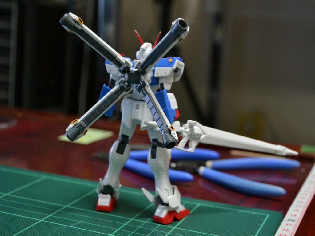 HGUC 1/144 XM-X3 クロスボーン・ガンダムX3 [Crossbone Gundam X-3] 背面