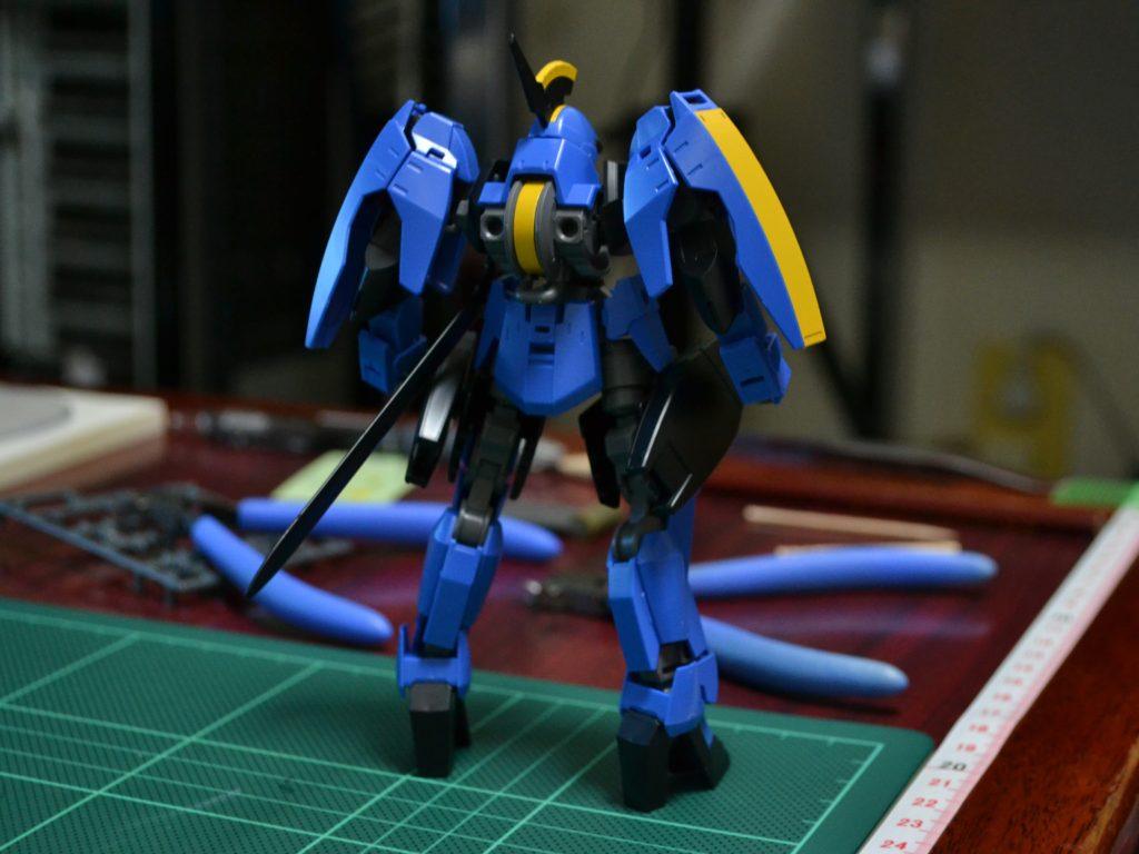 HG 1/144 EB-06rs グレイズリッター(マクギリス機) [McGillis' Graze Ritter] 背面