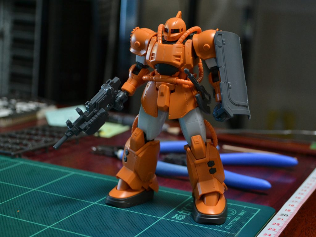 HG 1/144 MS-04 ブグ 正面