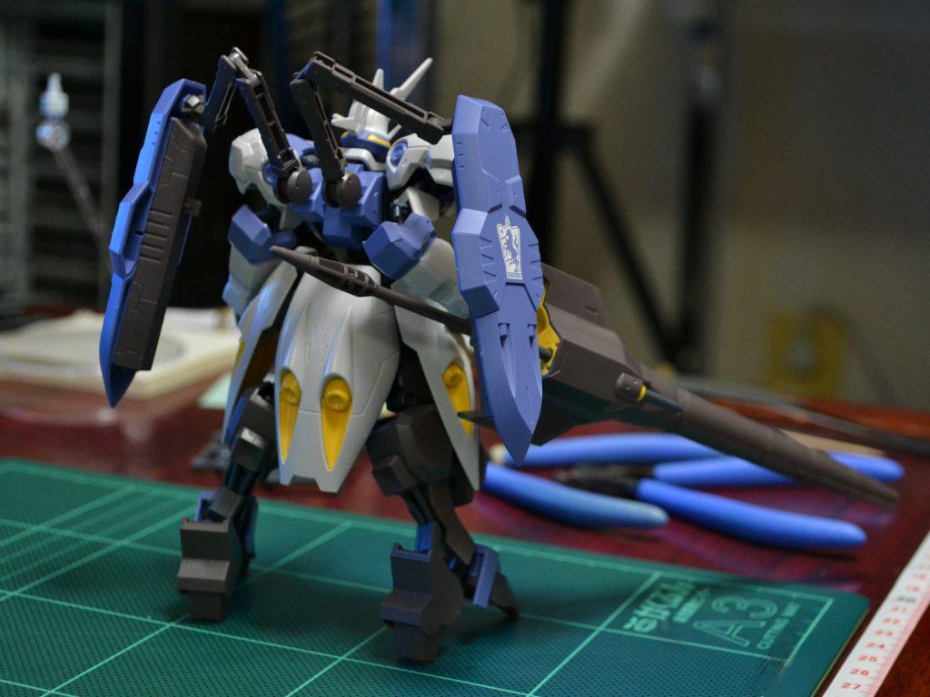 HG 1/144 ASW-G-66 ガンダムキマリスヴィダール [Gundam Kimaris Vidar] 背面