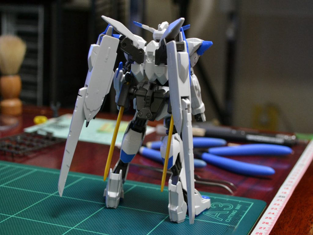 HG 1/144 ASW-G-01 ガンダムバエル 背面