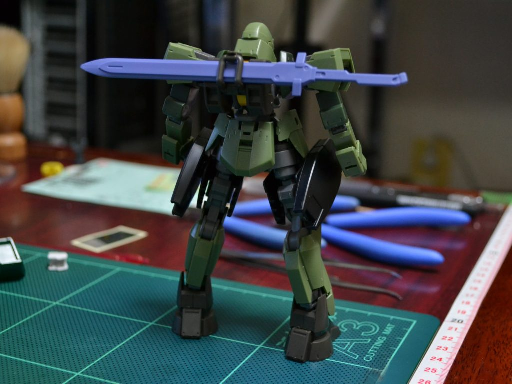 HG 1/144 MSオプションセット9 [MOBILE SUIT OPTION SET 9] 背面