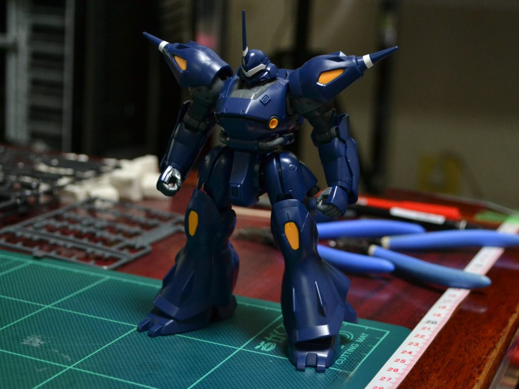HGBF 1/144 PPMS-18E ケンプファーアメイジング 正面