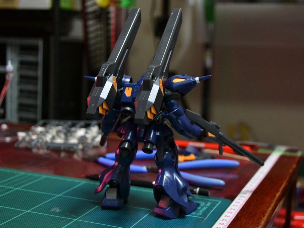 HGBF 1/144 PPMS-18E ケンプファーアメイジング 背面