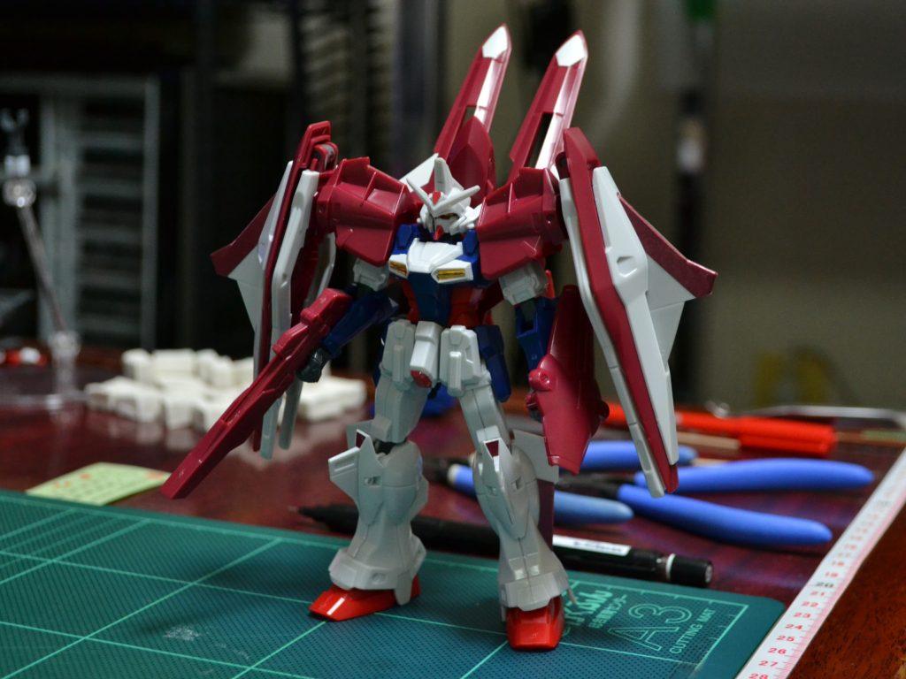 HG 1/144 OZX-GU01LOB ガンダムエルオーブースター [Gundam L.O. Booster] 正面