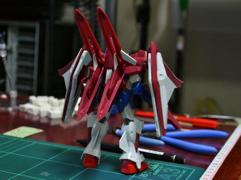 HG 1/144 OZX-GU01LOB ガンダムエルオーブースター [Gundam L.O. Booster] 背面