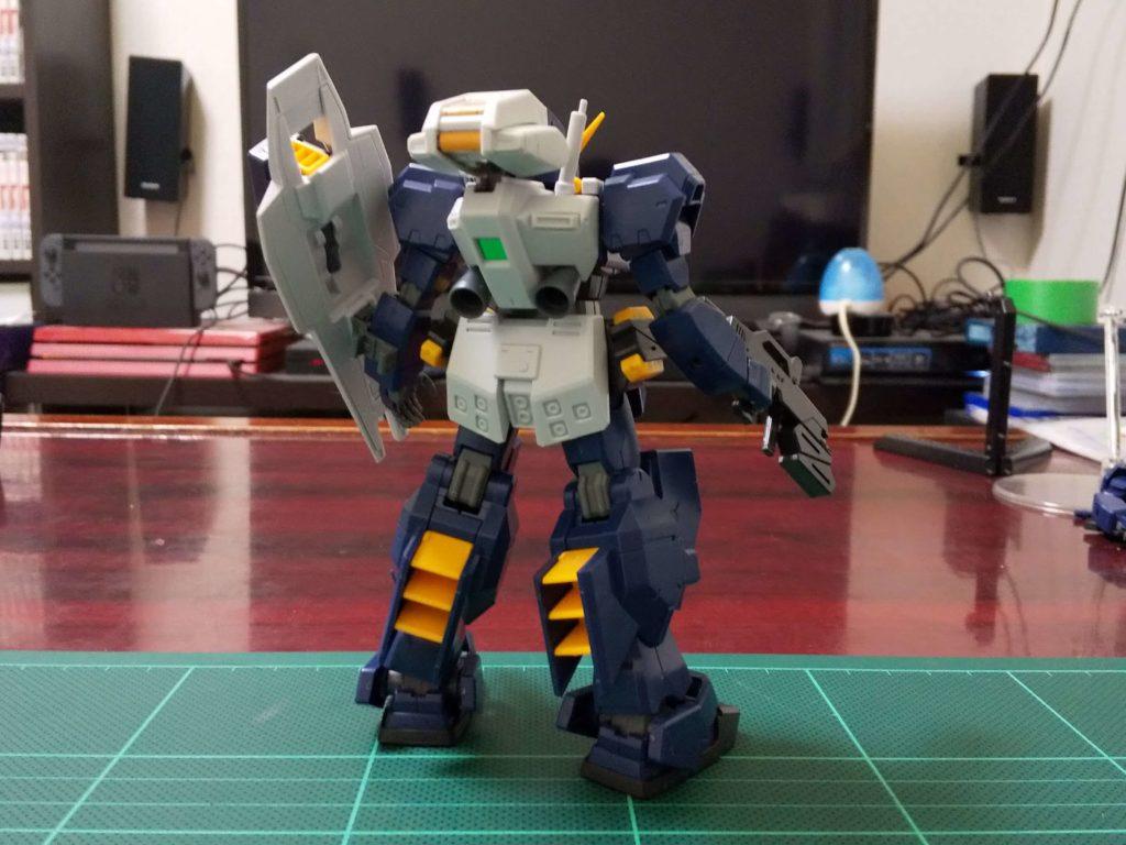 RX-121 ガンダムTR-1〈ヘイズル〉(フルアーマー・タイプ) [Gundam TR-1 [Hazel] Full Armor Form] 背面