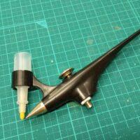 マニア模型オリジナル マーカーエアブラシ用塗料カップ(6個入)