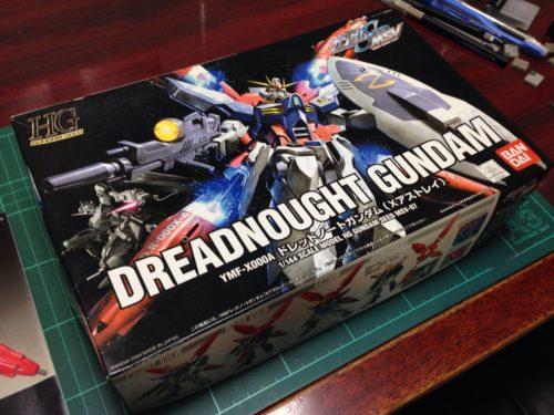 HG 1/144 YMF-X000A ドレッドノートガンダム(Xアストレイ) [Dreadnought Gundam (X Astray)]