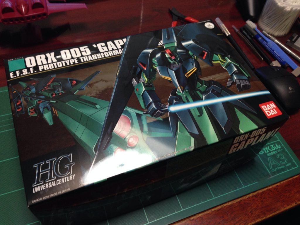 HGUC 1/144 ORX-005 ギャプラン パッケージ