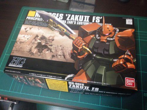 HGUC 1/144 MS-06FS ザクII FS型(ガルマ・ザビ専用機) [Zaku II Type FS (Garma Zabi custom)]