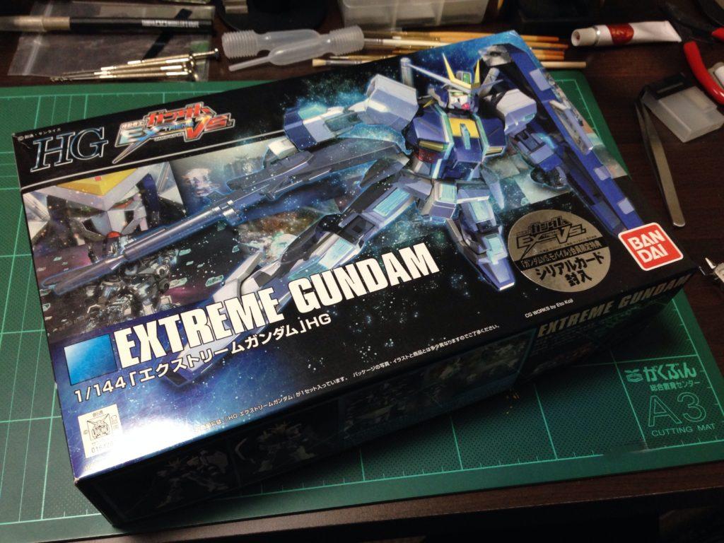HG 1/144 エクストリームガンダム [Extreme Gundam] パッケージ