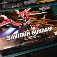 HG 1/144 ZGMF-X23S セイバーガンダム [Saviour Gundam] パッケージ