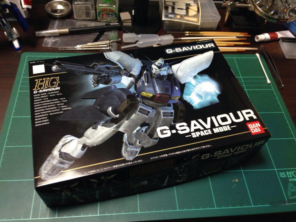 HGUC 1/144 GS-01 ジーセイバー(無重力仕様) [G-SAVIOUR G-Saviour Space Mode] パッケージ