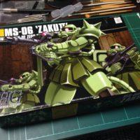 HGUC 1/144 MS-06 量産型ザク [Zaku II]( ザクⅡ) パッケージ
