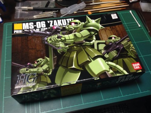 HGUC 1/144 MS-06 量産型ザク [Zaku II]