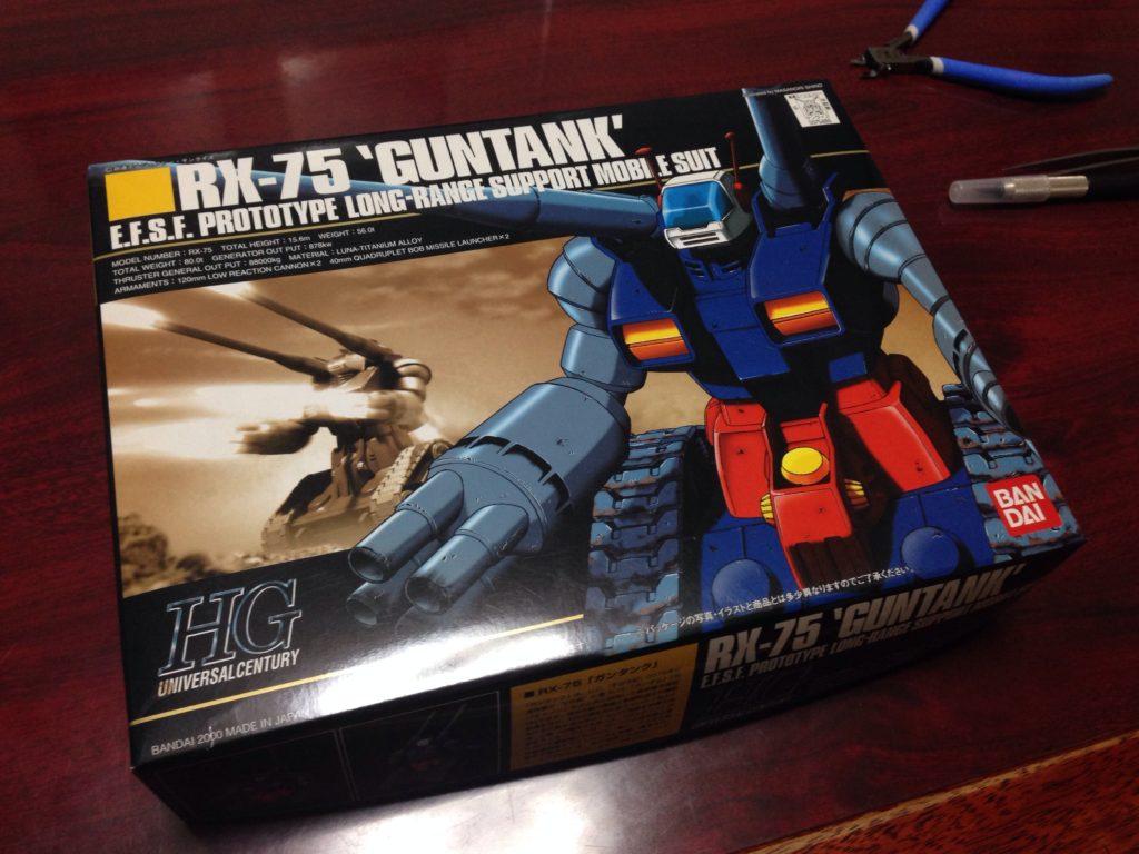 HGUC 007 1/144 RX-75 ガンタンク パッケージ