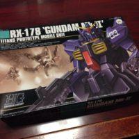 HGUC 1/144 RX-178 ガンダムMk-II(ティターンズ)[Gundam Mk-II (Titans colors)]