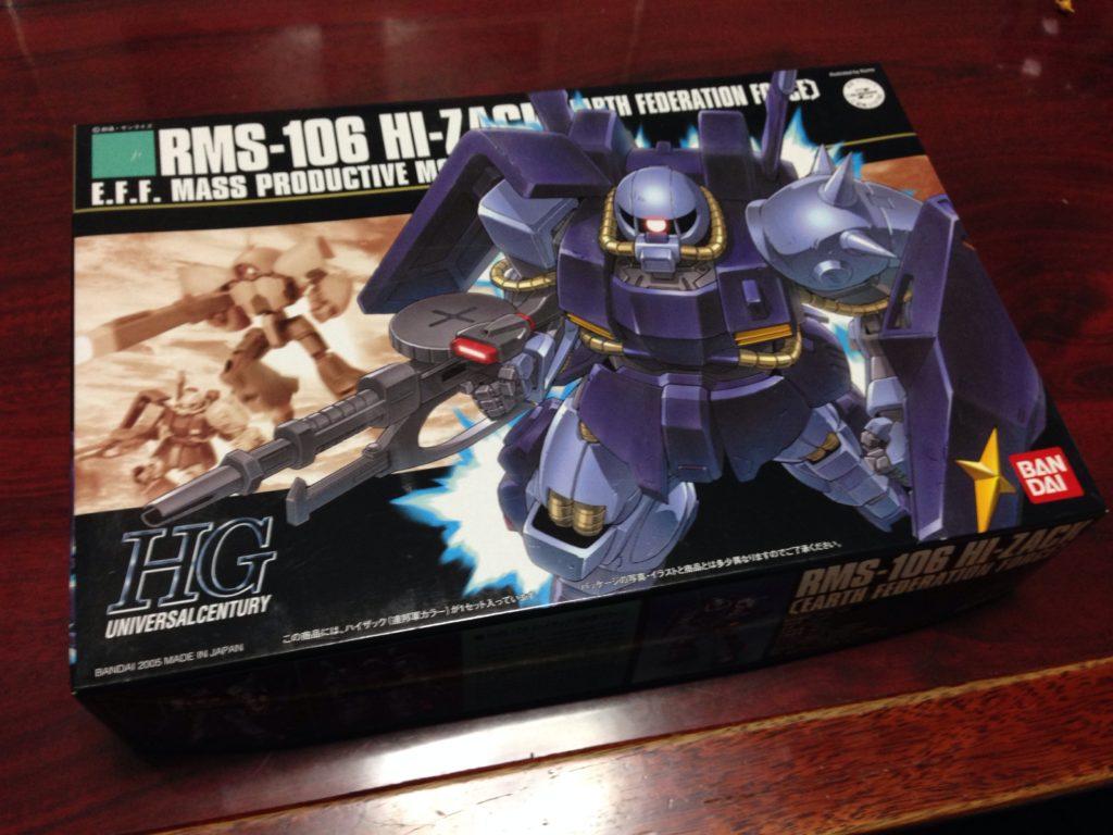 HGUC 1/144 RMS-106 ハイザック(連邦軍カラー)[Hi-Zack (Earth Federation Force colors)] パッケージ
