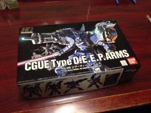 HG 1/144 YFX-200 シグーディープアームズ[CGUE Type D.E.E.P.ARMS]
