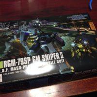 HGUC 1/144 RGM-79SP ジム・スナイパーII [GM Sniper II]