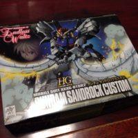 HG 1/144 XXXG-01SR2 ガンダムサンドロックカスタム (サンドロックEW)  [Gundam Sandrock Custom] 0061214 4902425612140
