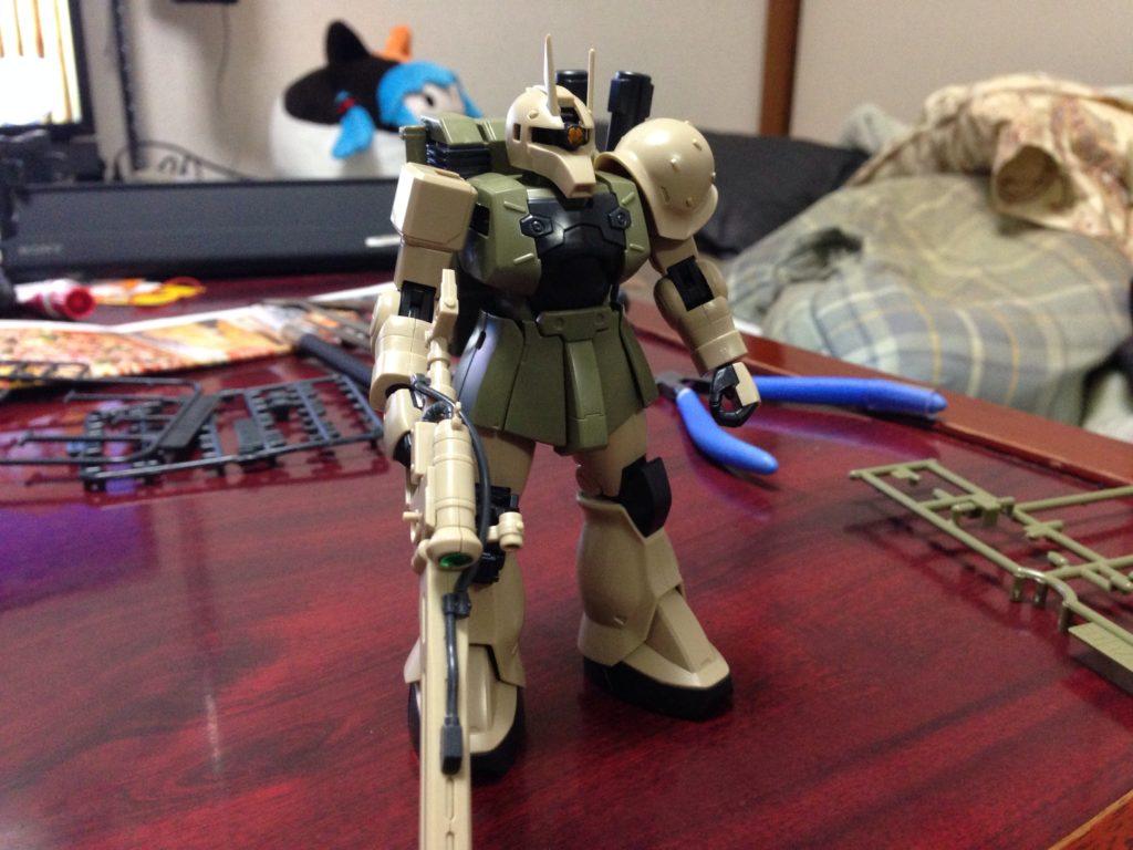HGUC 1/144 MS-05L ザクI・スナイパータイプ(ヨンム・カークス機)[Zaku I Sniper Type (Yonem Kirks Custom)] 正面