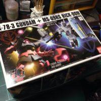 HGUC 1/144 G-3ガンダム VS シャア専用リック・ドム [RX-78-3 Gundam + MS-09RS Rick-Dom] 5060960 0153706