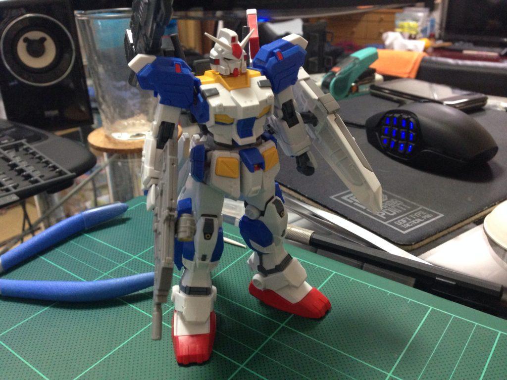 HGUC 1/144 FA-78-3 フルアーマーガンダム7号機 [Full Armor Gundam 7th] 正面