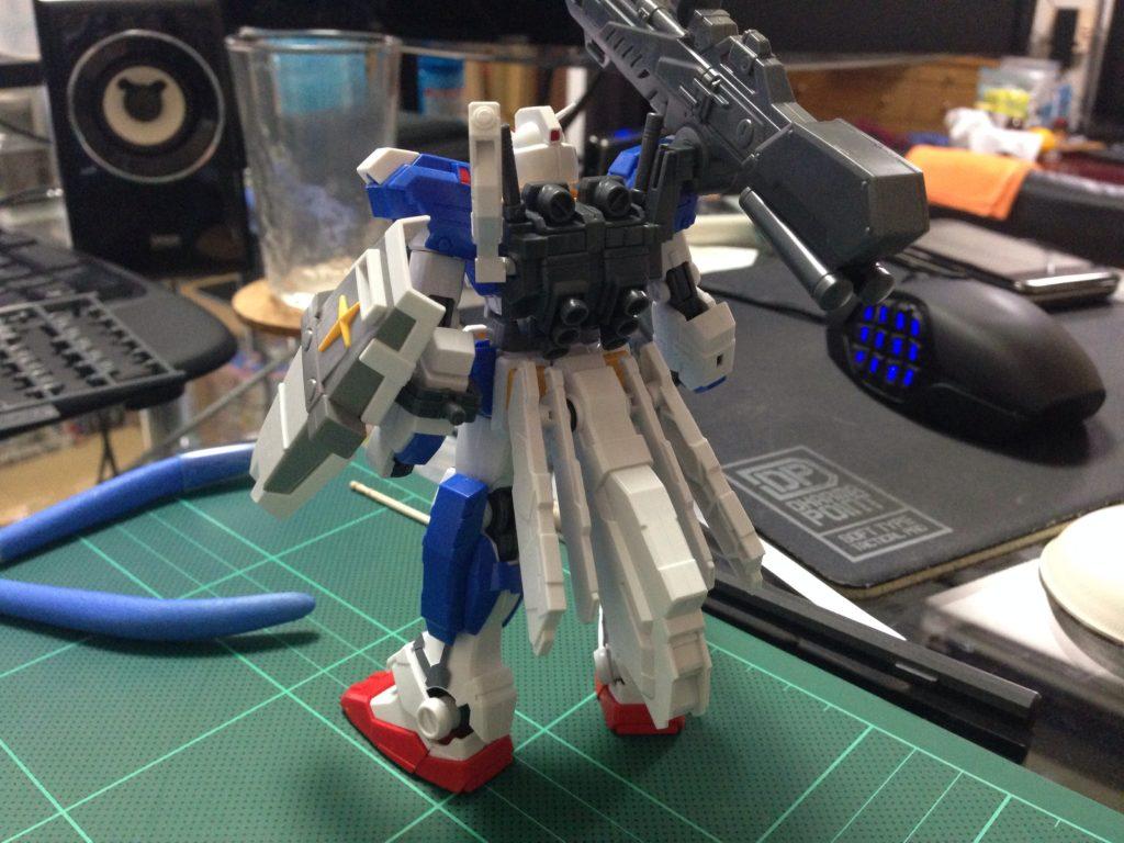 HGUC 1/144 FA-78-3 フルアーマーガンダム7号機 [Full Armor Gundam 7th] 背面