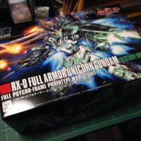 HGUC 178 1/144 RX-0 フルアーマー・ユニコーンガンダム(デストロイモード) [Full Armor Unicorn Gundam (Destroy Mode)] パッケージ