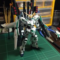 HGUC 178 1/144 RX-0 フルアーマー・ユニコーンガンダム(デストロイモード) [Full Armor Unicorn Gundam (Destroy Mode)]