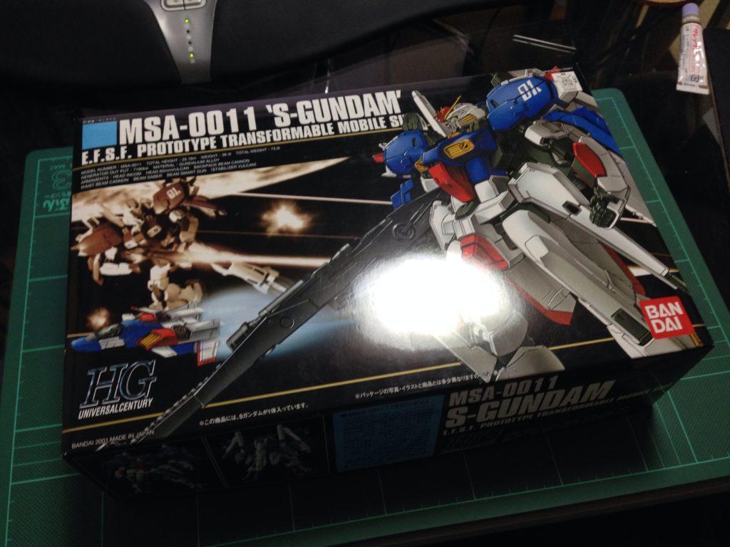 HGUC 1/144 MSA-0011 Sガンダム [S Gundam] パッケージ