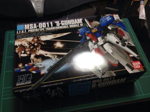 HGUC 1/144 MSA-0011 Sガンダム [S Gundam]