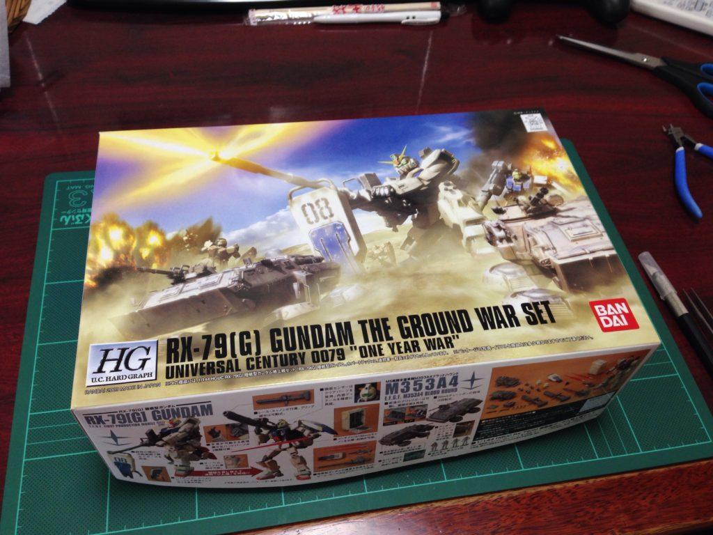 HGUC 1/144 RX-79[G] 陸戦型ガンダム地上戦セット パッケージ