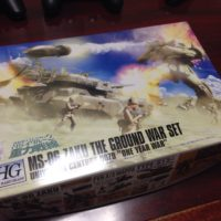 HGUC 1/144 MS-06 ザク地上戦セット [Zaku The Ground War Set] 0157732