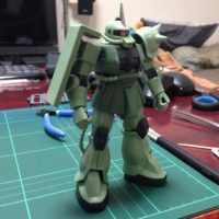 HGUC 1/144 MS-06 ザク地上戦セット [Zaku The Ground War Set]