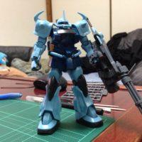 HGUC 1/144 MS-07B-3 グフカスタム [Gouf Custom]