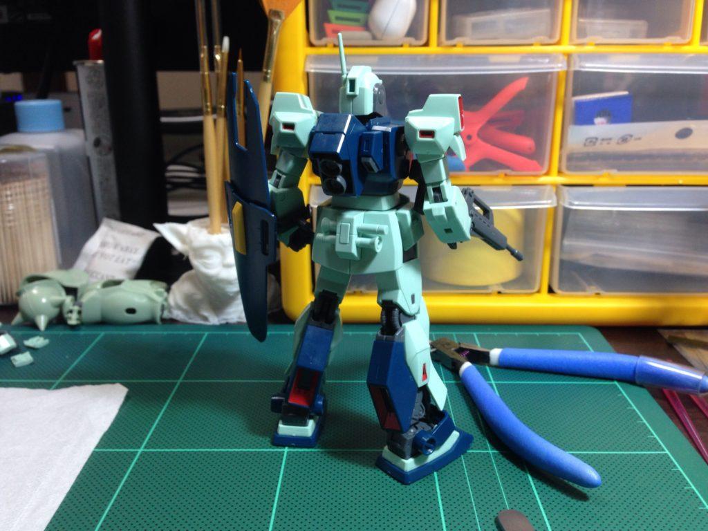 HGUC 1/144 MSA-003 ネモ(ユニコーンVer.) [Nemo (Unicorn Ver.)] 背面