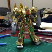 1/144 モビルスモー ゴールドメッキタイプ&シルバーメッキタイプ [Mobile SUMO Gold Plating Type &  Gold Plating Type]
