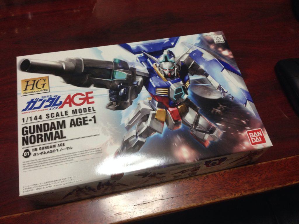 HG 1/144 AGE-1 ガンダムAGE-1 ノーマル [Gundam AGE-1 Normal] パッケージ