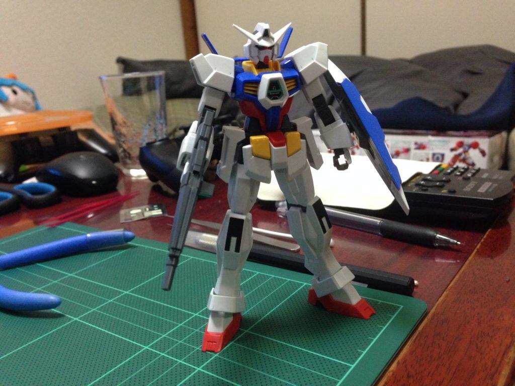 HG 1/144 AGE-1 ガンダムAGE-1 ノーマル [Gundam AGE-1 Normal] 正面