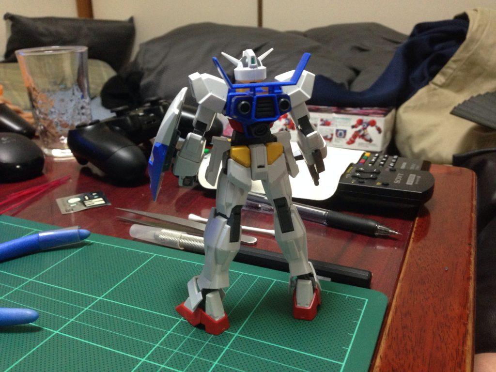 HG 1/144 AGE-1 ガンダムAGE-1 ノーマル [Gundam AGE-1 Normal] 背面