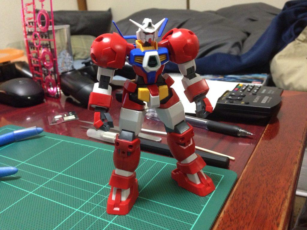 HG 1/144 AGE-1T ガンダムAGE-1 タイタス [Gundam AGE-1 Titus] 正面