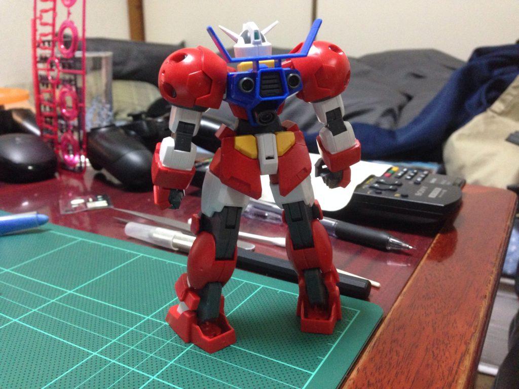 HG 1/144 AGE-1T ガンダムAGE-1 タイタス [Gundam AGE-1 Titus] 背面