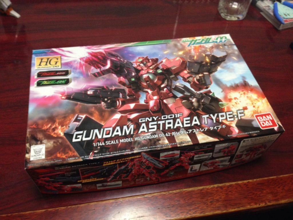 HG 1/144 GNY-001F ガンダムアストレア タイプF パッケージ