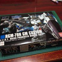HGUC 1/144 RGM-79N ジムカスタム [GM Custom]